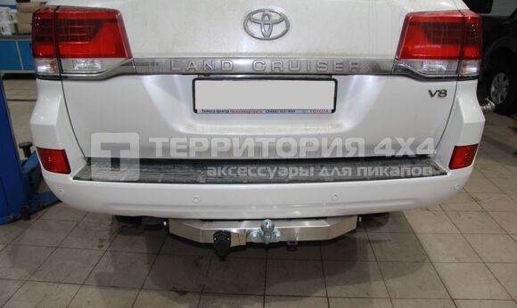 Фаркоп TOYOTA LAND CRUISER 200 2009+ (с надписью LAND CRUISER)
